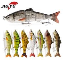 12cm 16.5g swimbait lure Multi Jointed fish Wobblers Lifelike Fishing Lure 4 Segment Swimbait Crankbait Fishing Tackle