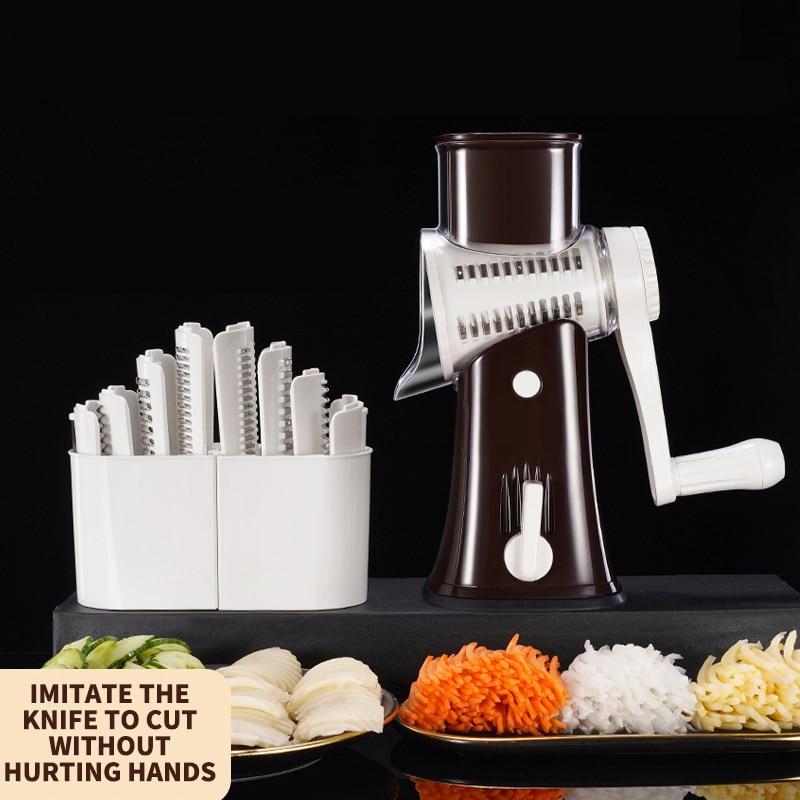 New Vegetable Cutter Multifunctional 12 In 1 Slicer Fruit Potato Peeler Carrot Grater Kitchen Access