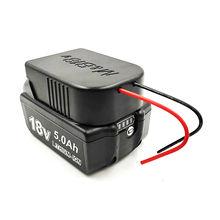 Voor Milwaukee M18 Voor Bosch 18V Li-Ion Batterij Converter Om Diy Kabel Output Aansluiting Adapter Li-Ion Batterij Converter Adapter