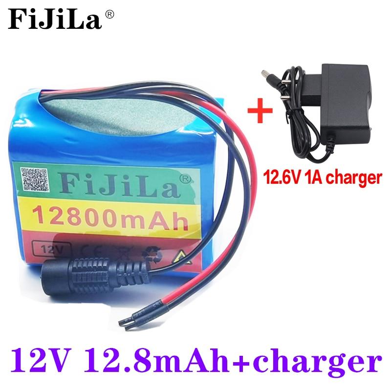 3S2P 12V 12800 мА/ч Батарея 18650 литий ионный аккумулятор 12 8 Ач Перезаряжаемые батареи с