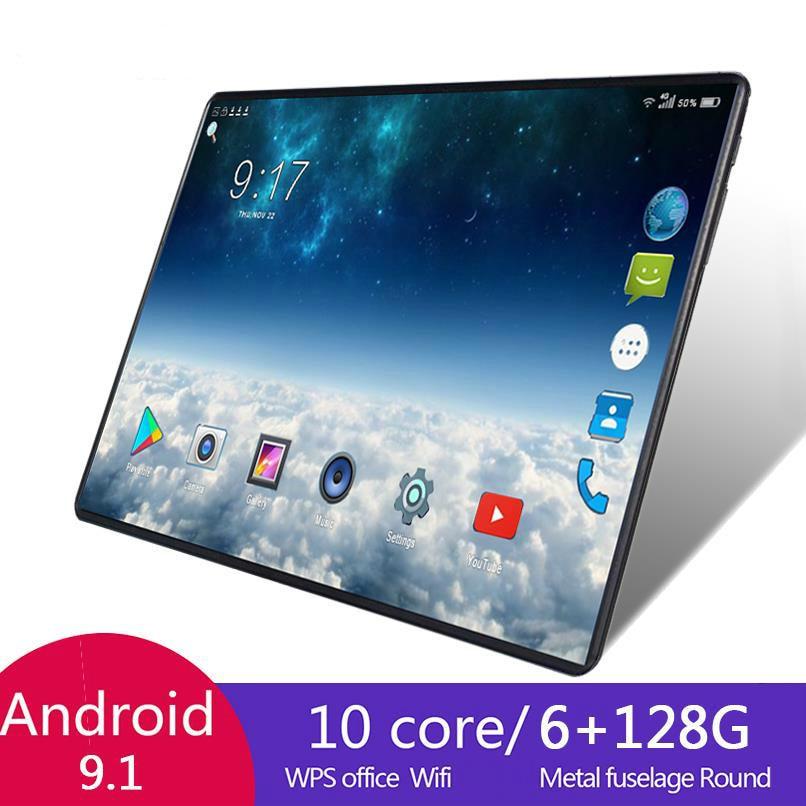 2021 heißer Verkauf 10,1 Zoll Octa Core 6G + 128GB Android 8,1 WiFi Tablet PC Dual SIM Dual kamera Bluetooth 4G WiFi Anruf Telefon Tablet