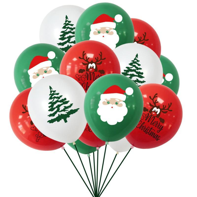 Рождественские воздушные шары с надписью