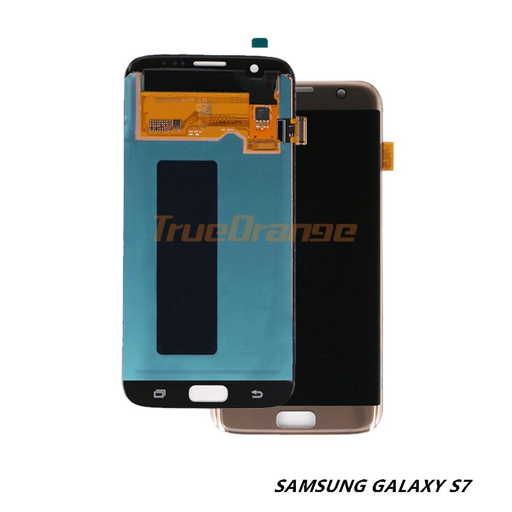 Orginal 5.1 display display display lcd para samsung galaxy s7 substituição assembléia digitador da tela de toque forsamsung s7 g930 g930a g930f/fd