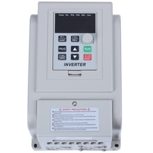Convertidor de frecuencia de 220V CA de SZS, convertidor de frecuencia Variable de 1,5 kW, convertidor de controlador de velocidad VFD, onda sinusoidal inversorda