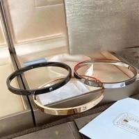 original brand jewelry zero s925 silver bracelet double diamond bangle couple bracelet accessories wedding festival party gifts