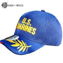 HAN sauvage casquette de Baseball en plein air casquette militaire casquette Marine casquettes de chasse chapeaux tactiques brodés chapeaux réglables Gorra Hombre