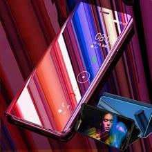 Étui à rabat miroir intelligent pour Xiaomi Redmi 7A housse sur le support Xiomi Redmi7A étui Xaomi Xiami Kisomi Redme A7 Coque Fundas