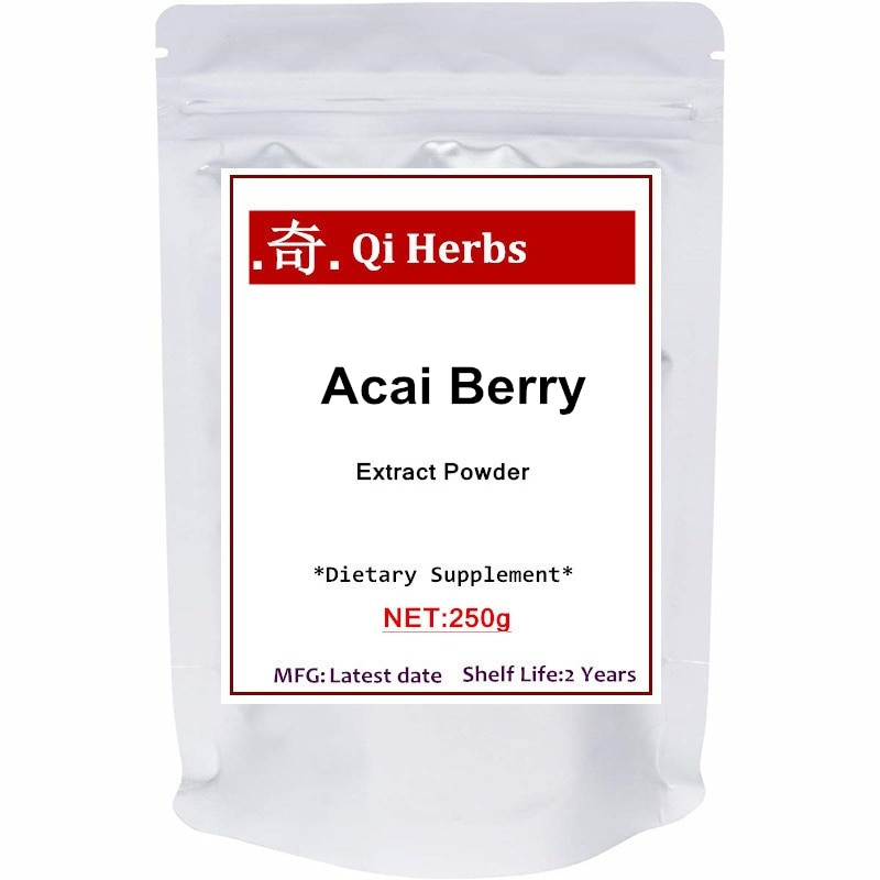100% baya Acai, extracto Natural en polvo, 20:1