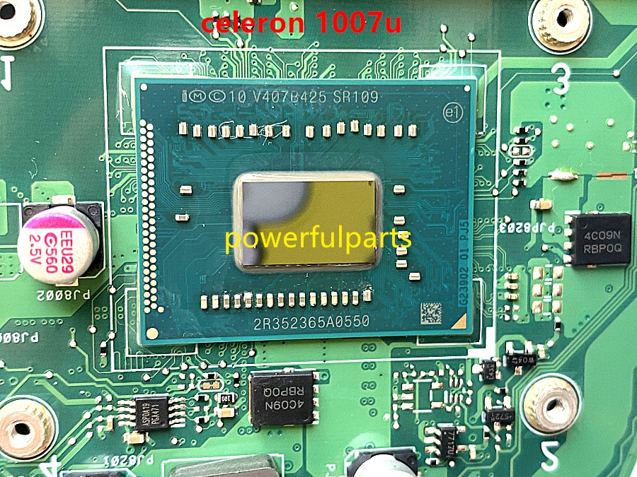 100% working for asus x451 x451ca mainboard with celeron 1007u cpu rev.2.1 HM70 tested well