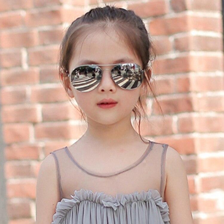 Classic Aviation sunglasses For Boy And Girl Colorful Mirror Pilot Sun Glasses Children Sunglasses K