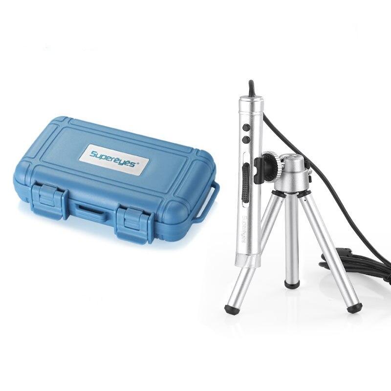 500X Digital Electronic LED USB Microscope Magnifier Endoscope Camera Video Microscope 0.2MP Skin Hair Testing Taking Photos
