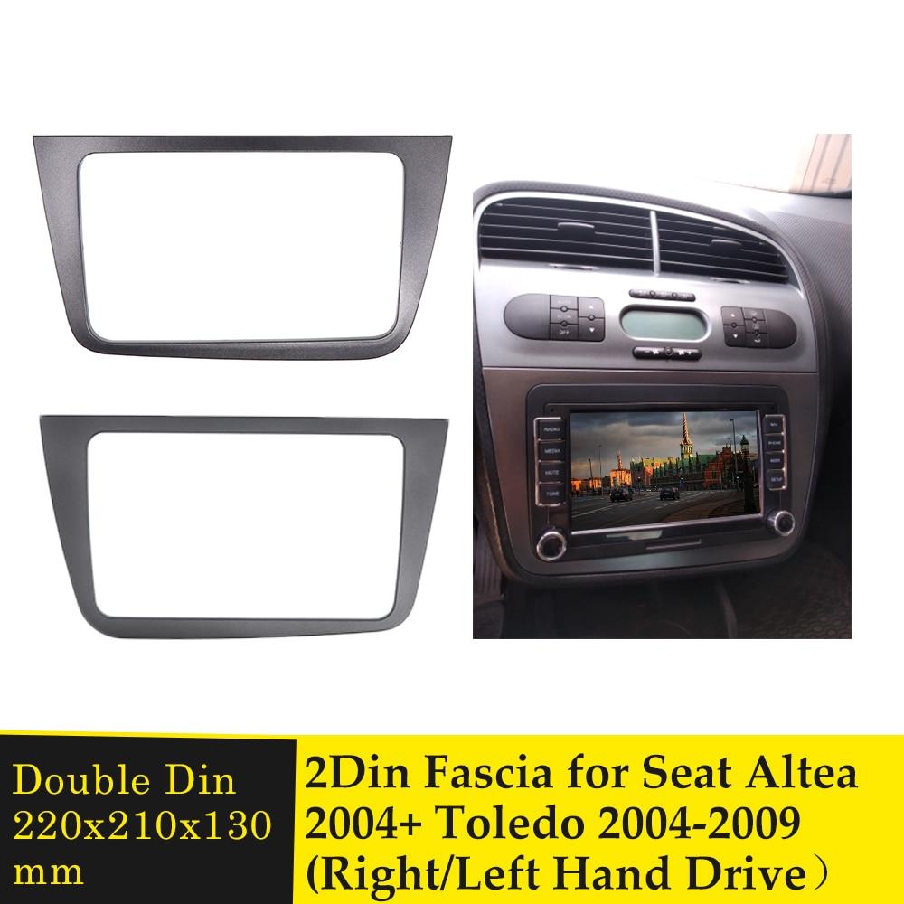 2 Din Car Fascia Radio Estéreo Panel placa DVD tablero de marco...