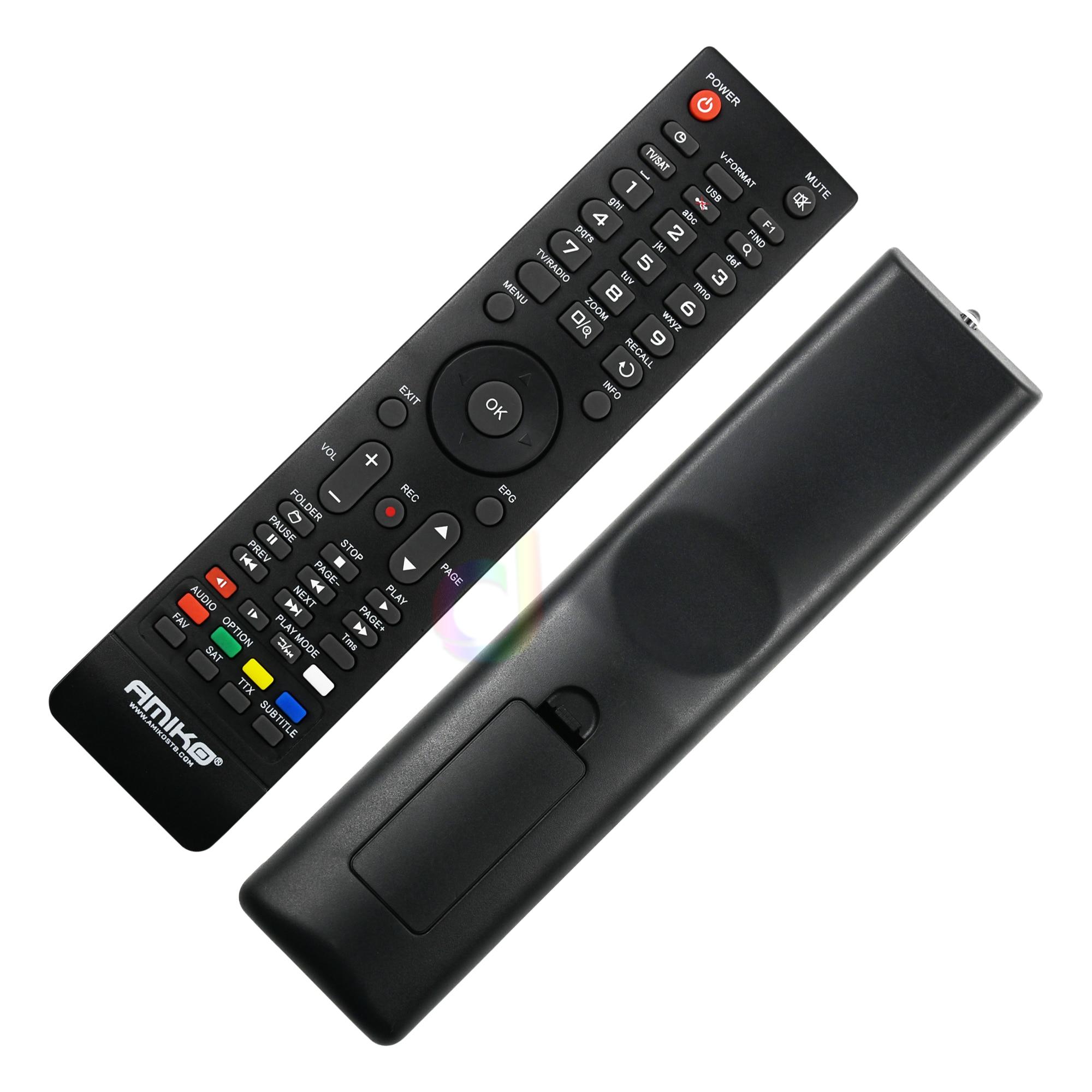 Télécommande pour AMIKO Mini HD 8150 8200 8300 8360 8840 SHD 7900 8000 8110 8140 STHD 8820,8800, Micro Combo