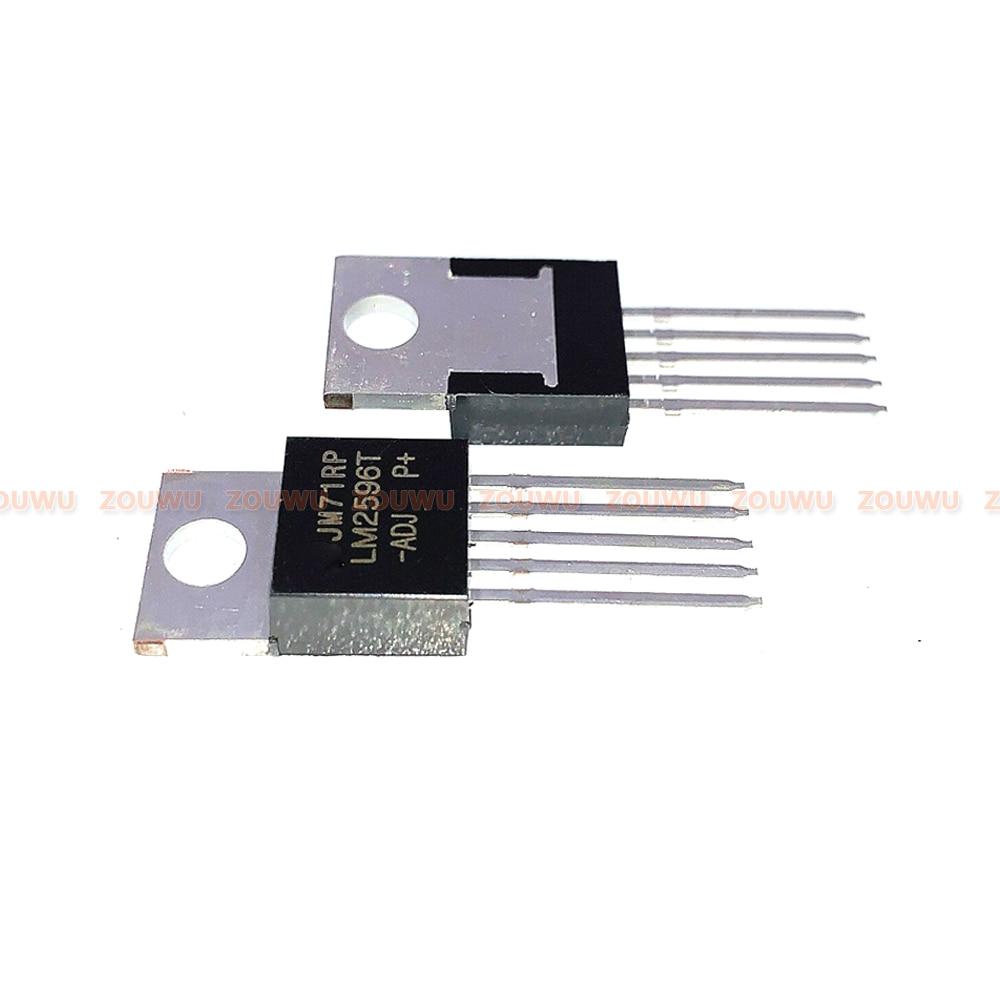 10 PÇS/LOTE LM2596T PARA-220 LM2596T-ADJ TO220 IC 100% original