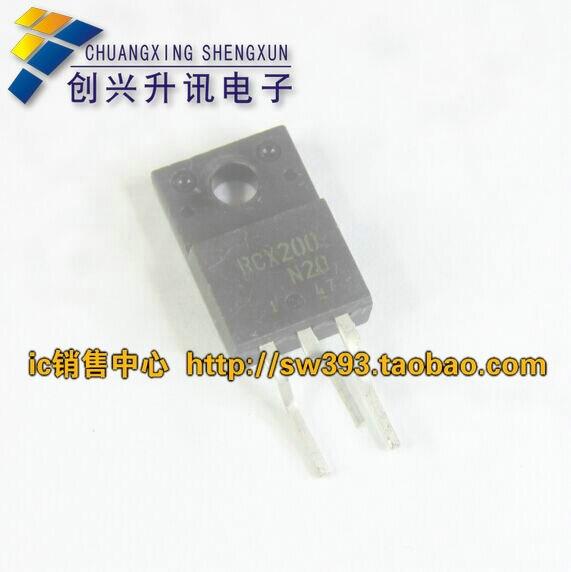 Entrega gratuita. RCX200 RCX200N20 RCX200-N20 de televisión por plasma con transistor de desmontar importado