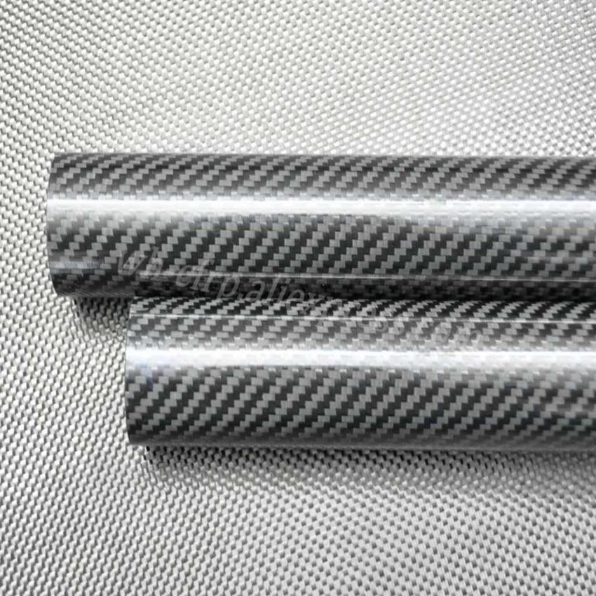 1pcs 3k Carbon Fiber Tube L X 500MM OD 10mm 11mm 12mm 13mm 14mm 15mm 16mm 17mm 18mm 19mm 20mm  with 100% full carbon, Japan 3k enlarge