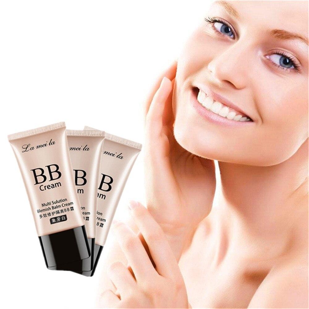 Acne Treatment Face Makeup Base Face Snail Foundation BB Cream Concealer Foundation Primer Anti-oxidant CC Cream 50ml/bottle