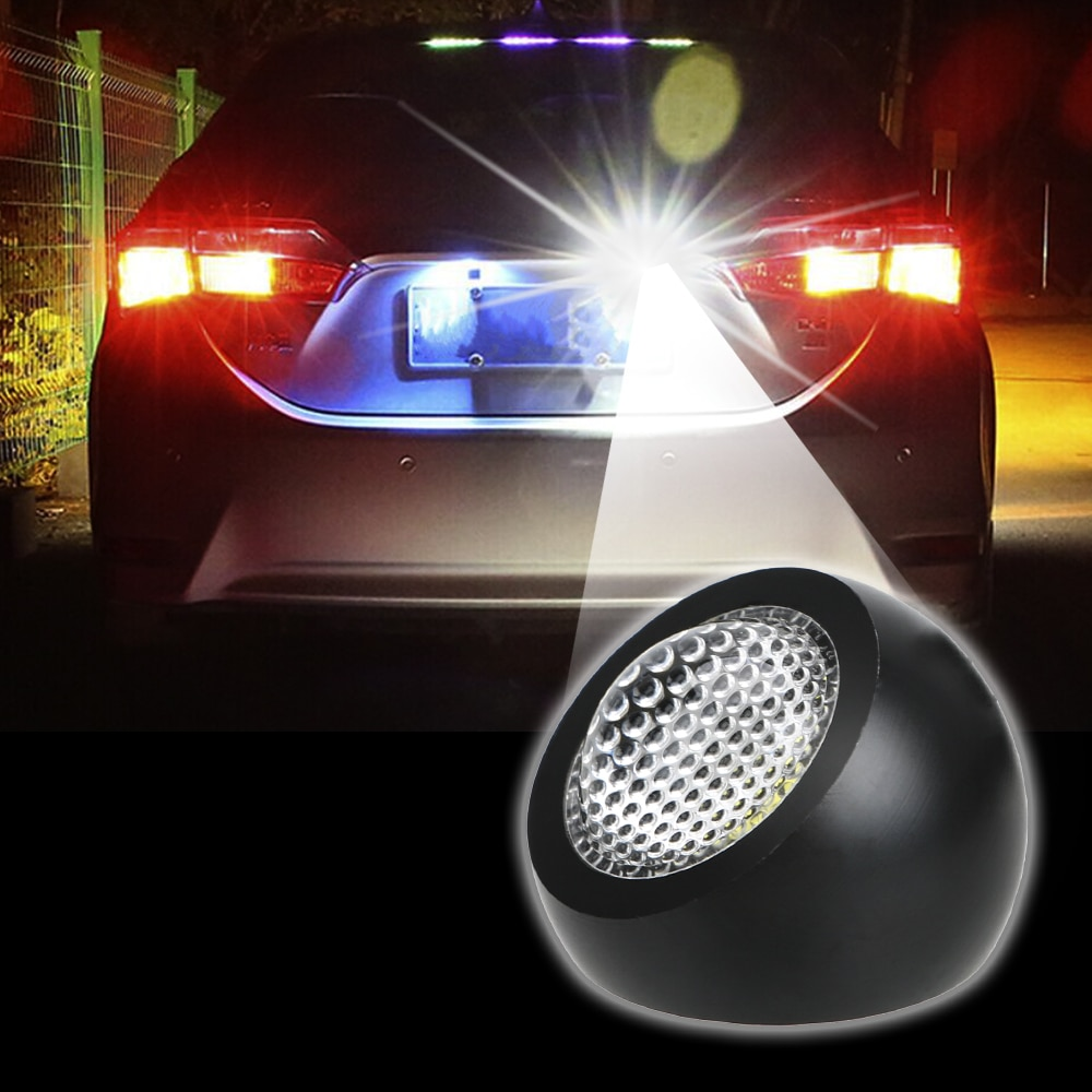 LEEPEE DC 12V luces de LED tipo Ojo de águila para coche a prueba de agua Luz de respaldo de marcha atrás 1 Uds DRL Luz de circulación diurna lámpara de señal de estacionamiento