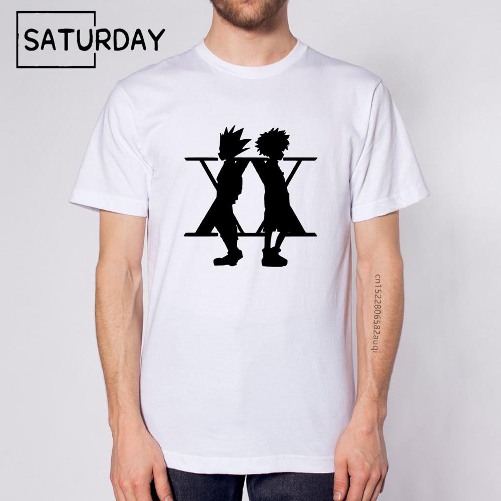 Фото - Мужская белая футболка с принтом, мода 2021, классная Удобная Повседневная футболка Hunter X Hunter Hisoka унисекс, Прямая поставка printio детская футболка классическая унисекс hunter x hunter