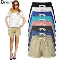 shorts summer 2020 woman high waist sport short pants cotton women plus size loose wide legs casual female home comfy shorts
