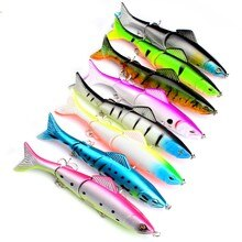 Señuelo de pesca brillante lápiz StickBait señuelo 127mm18.6g Floating Wobblers artificial señuelo duro vobler 8 colores