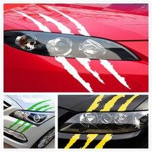 Auto Sticker Reflecterende Monster Kras Streep Klauw Voor Toyota V Hilux Land Cruiser Avanza Carina Celica Corona