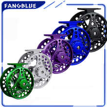 Fly Fishing Reel 2+1BB Large Arbor Alloy Aluminum Interchangeable Fly Reel 3/4 5/6 7/8 For Trout Fly Fishing Wheel Reel Tackle