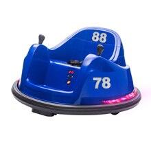 [Meicang] 6V Children's Toy Bumper Cars, Children's Remote Control Autonomous Driving Safety Tes