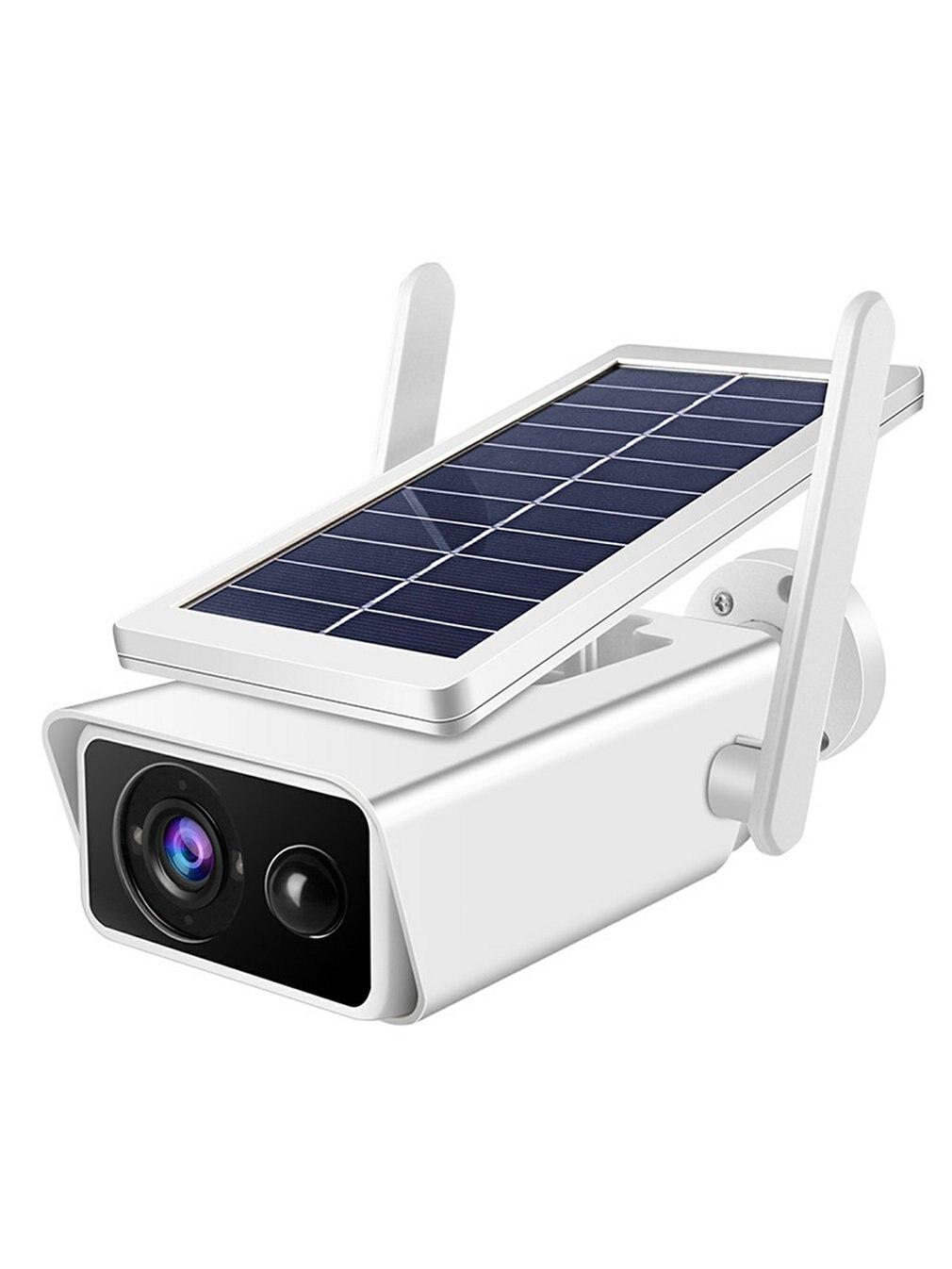 كاميرا الطاقة الشمسية مزرعة كاميرا مراقبة لاسلكية مقاوم للماء في الهواء الطلق عالية الوضوح جهاز تحكم عن بعد للهاتف المحمول