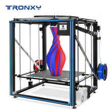 Tronxy X5SA-500-2E 2 In 1 Out Double Extruder Aluminium Alloy Heated Bed 3D Printer DIY Kit with Printing Size 500mm*500mm*600mm