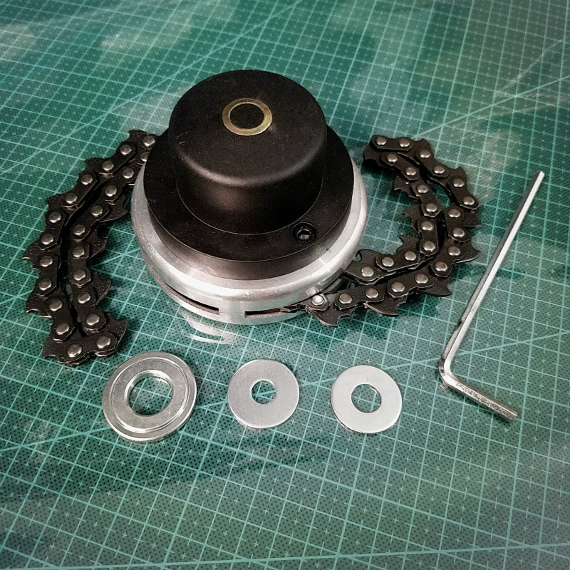 Аксессуары для цепной косилки, наконечник для кустореза, триммер, запчасти для бензопилы, запасные части для бензопилы, головка для триммер...
