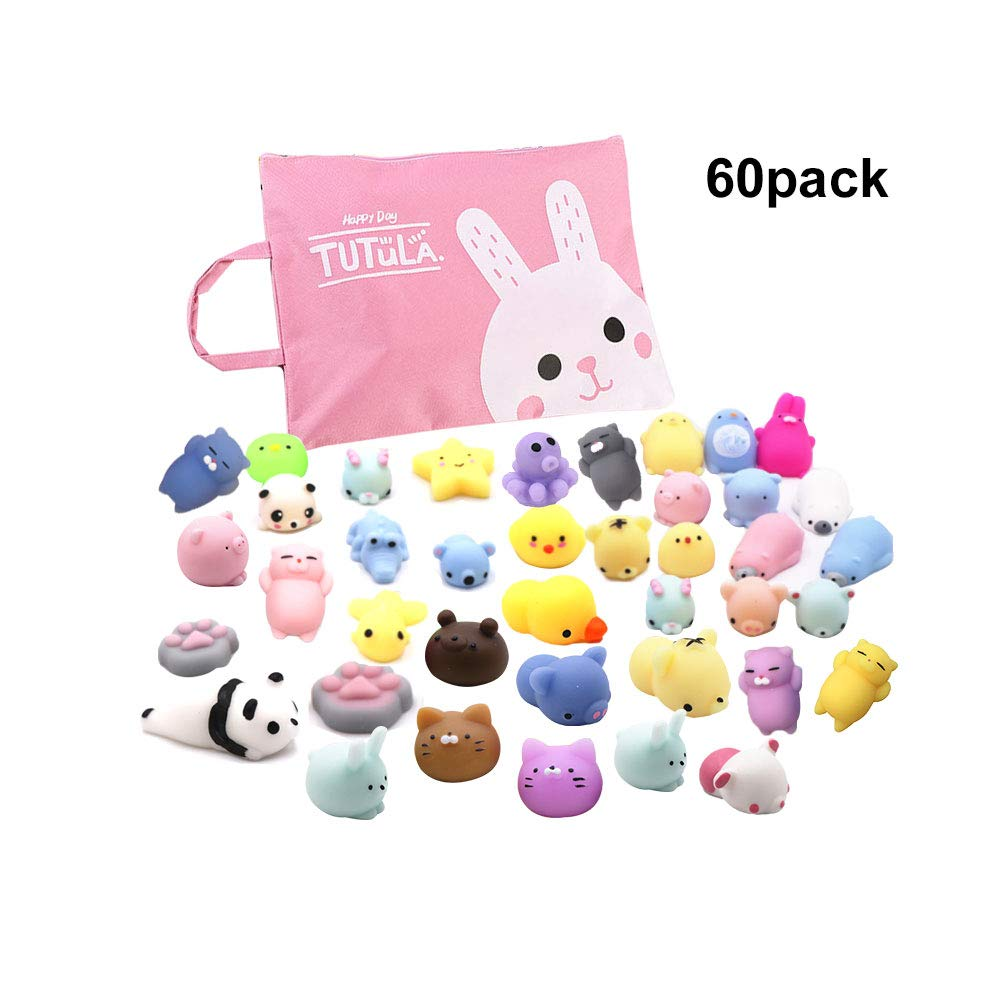 Mochi Squishy Toys with Cute Bag Stress Toy Reward Toys for Kids Kawaii moj Adult Venting Child Gift Fidget Toys