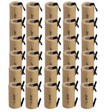 Wahre kapazität! 30 stücke SC batterie unter c batterie akku ersatz 1,2 v 1300 mah mit tab-freies verschiffen