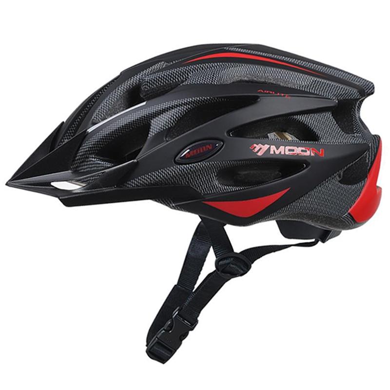 MOON Child Cycling Helmet Ultralight PC+EPS Bicycle Helmet Integrally-molded  Road Mountain Bike Helmet CE Certification 52-58cm