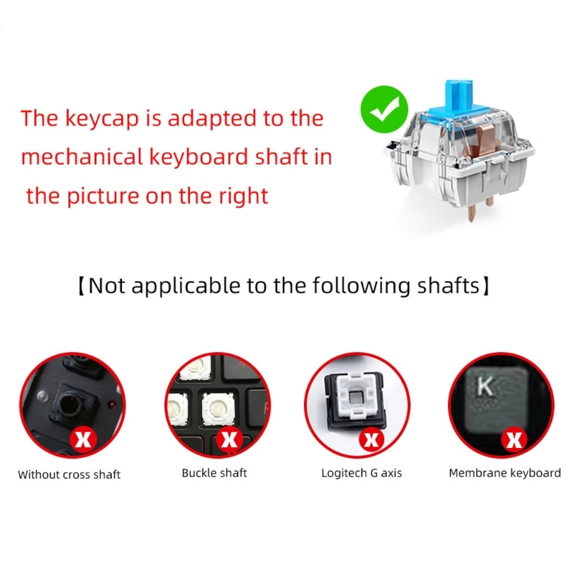 H7JA PBT Keycap OEM الشخصي خمسة الوجهين صبغ التسامي Keycap 110 مفاتيح مفتاح شخصية واقية من الضوء للوحة المفاتيح الميكانيكية