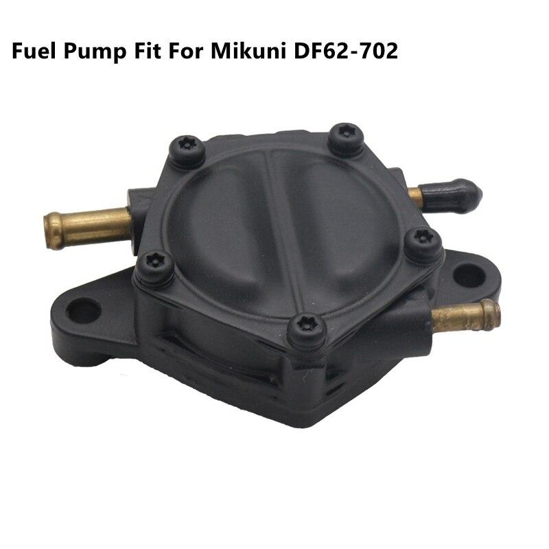 Bomba de combustible de alto volumen, salida Dual, compatible con Mikuni DF62-702 42-5312 1006-0287 Gas