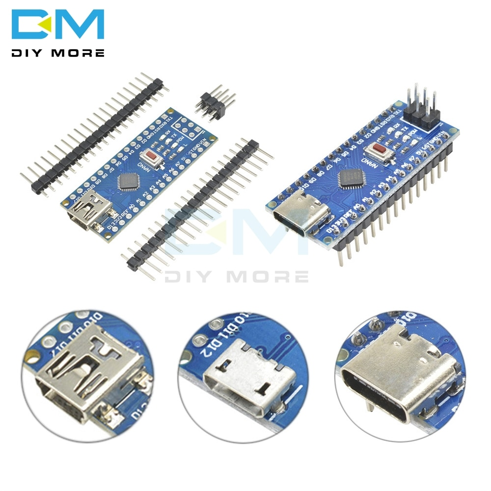 Плата разработки для мини-USB/Micro USB/Type-C �