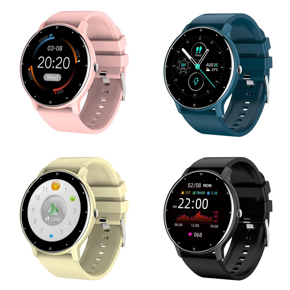 2021 New Smart Watch Men Full Touch Screen Sport Fitness Watch IP67 Waterproof Bluetooth For Android ios smartwatch Men