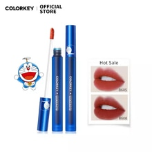 Colorkey × Doraemon Lip Gloss Liquid Lipstick Lip Glaze Waterproof Long-lasting Lip Makeup Cosmetic