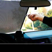 Pare-soleil rétractable de voiture 40x60cm   Pare-soleil, pare-soleil Anti-UV, pare-soleil pour voiture avant arrière, stores de protection