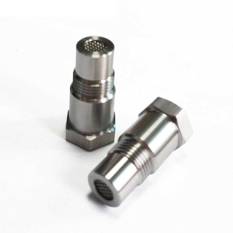 Adattatore per sensore di ossigeno per auto O2 CEL Fix controlla leliminatore di luce del motore M18 * 1.5 adattatore per prolunga raccordo per tubo di prova