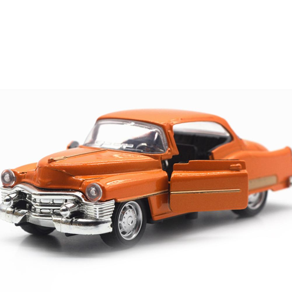 Children's Toy Car 1:36 Classic Car Alloy Car Model Sound And Light Pull Back Toy Car Suitable For Collecting Alloy Materials