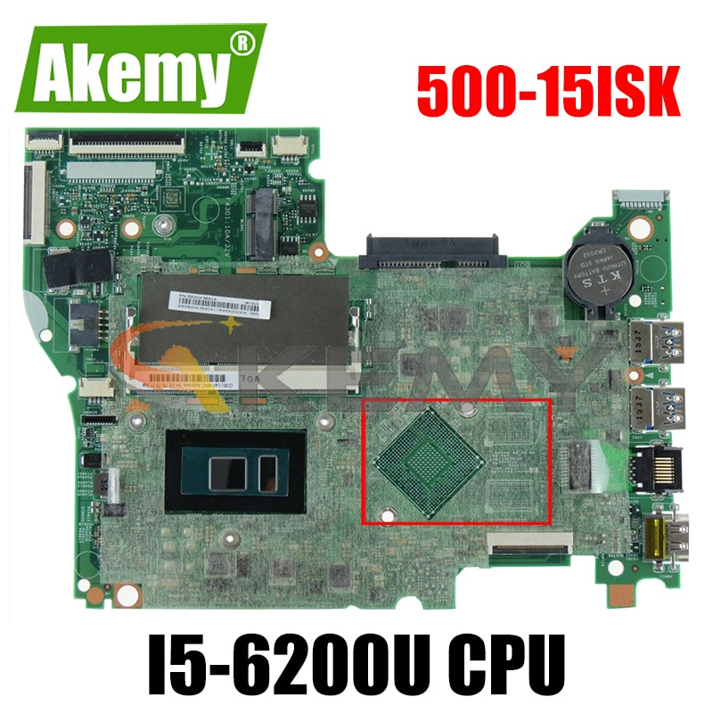 Akemy لينوفو اليوغا 500-15ISK FLEX3-1580 اللوحة المحمول I5 6200U DDR3 الرسومات المتكاملة 100% اختبار موافق لا مشكلة الجودة