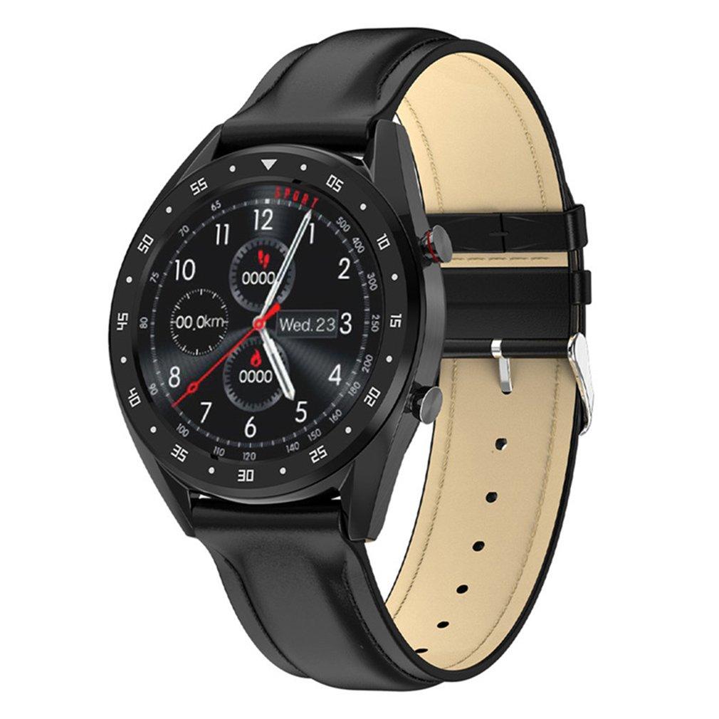 L7 Smart Watch Men 1.3 Inch Ip68 Waterproof Sport Smartwatch Activity Tracker Smart Watch Wristband For Ios Andriod