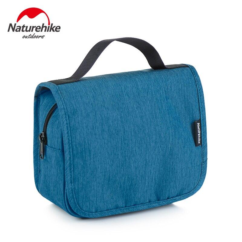 حقيبة تخزين رجالية عالية السعة ، حقيبة تخزين مقاومة للماء باللون الأزرق الصلب ، منظم سفر بسيط ، MM60SNB