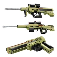 gun three deformation compatible building blocks peaceful survival elite childrens assembly toy model boy gift christmas