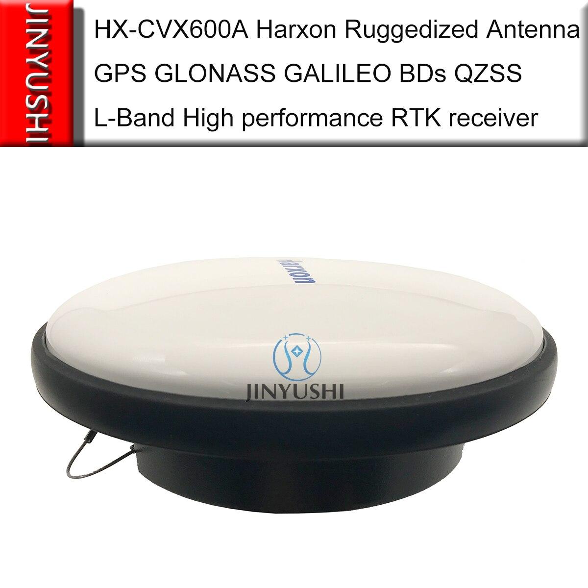 HX-CVX600A هاركسون هوائي قوي لتحديد المواقع L1 L2 L5 غلوناس غاليليو BDs QZSS L-الفرقة عالية الأداء GNSS مسح RTK المتلقي