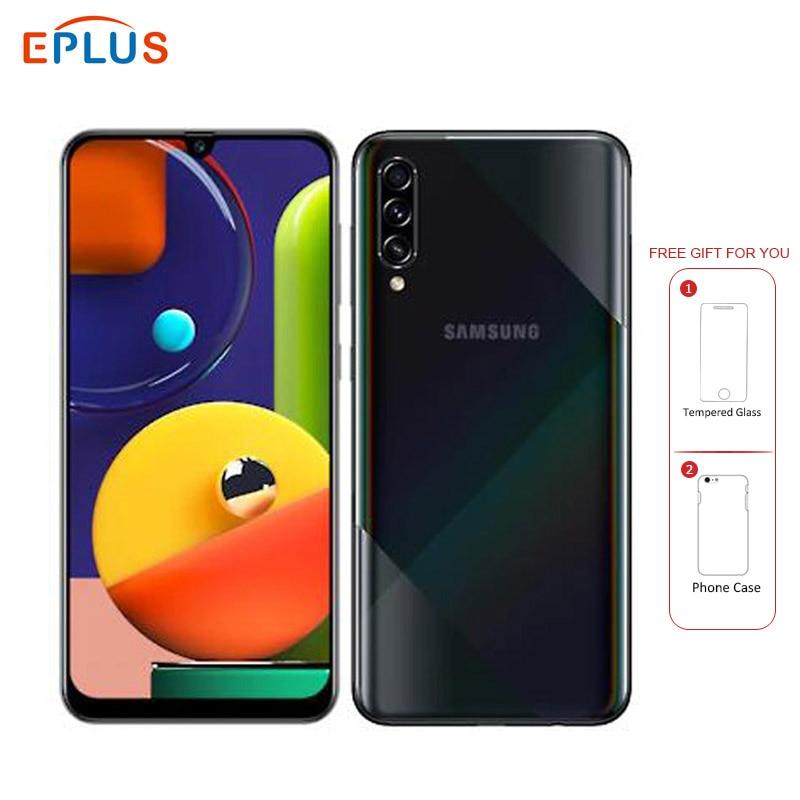"Brand New Samsung Galaxy A50s 6GB 128GB Mobile Phone A5070 Dual SIM 6.4"" 4000mAh Triple Rear Camera 48MP 4G Phone"