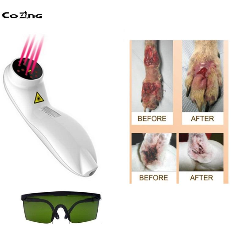 معدات العلاج بالليزر البيطري, علاج ليزر بارد لعلاج التهاب المفاصل وآلام الظهر والساق والركبة