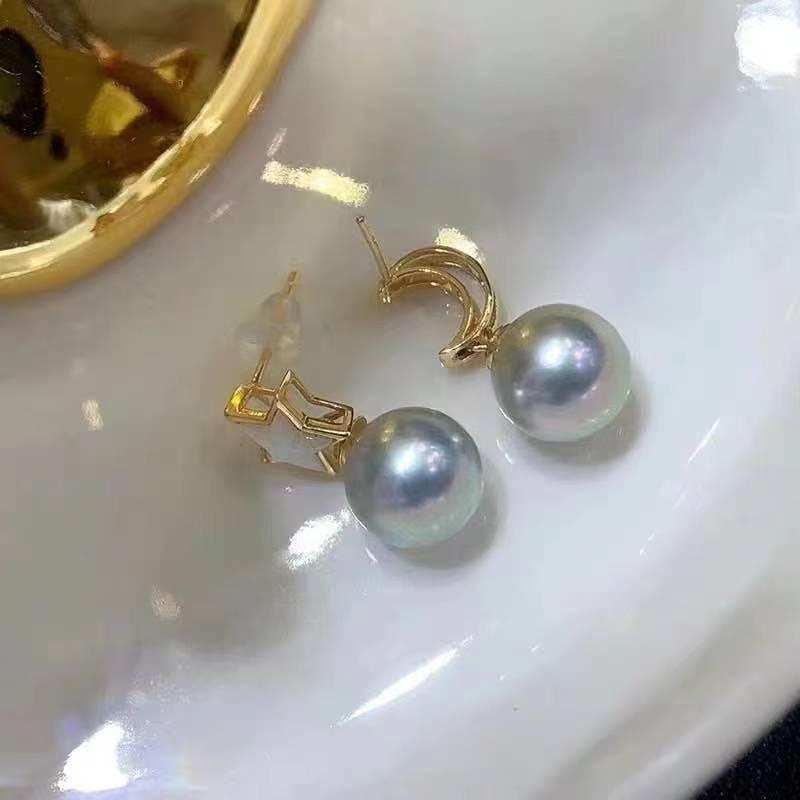 Wholesale Moon&Star Style Earrings Accessories Women DIY Jewelry Making For Pearl Jewelry